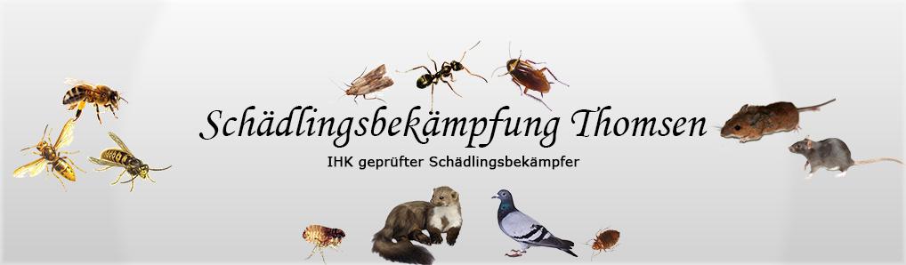 Schädlingsbekämpfung Thomsen